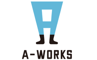 a-works株式会社様のロゴ
