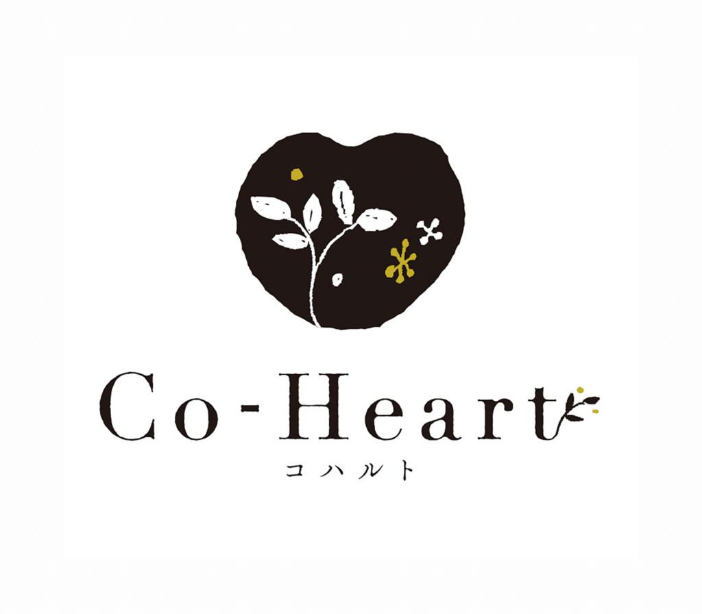 co_heart ロゴの画像